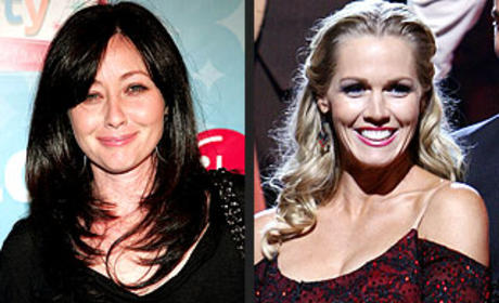 Shannen Dohert Shows Support for Jennie Garth
