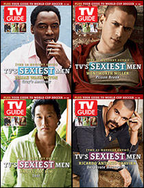 Four of the Hottest Men on TV