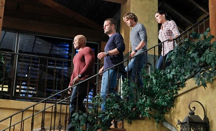 NCIS Los Angeles Season Finale Pics: Hunt for a Submarine