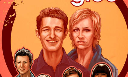 Glee Comic Book Cover: Yikes!