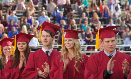 Vampire Diaries Graduation Photos: Mystic Falls Mayhem?