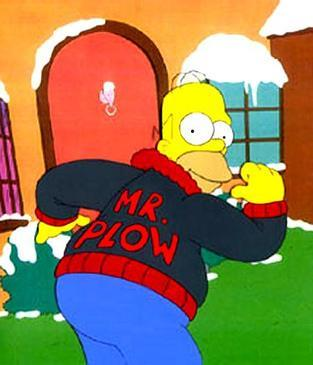 Mr. Plow Picture