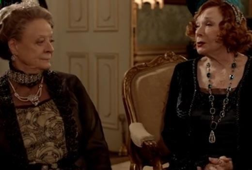 Shirley MacLaine and Maggie Smith