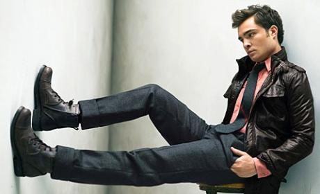 Ed Westwick: GQ Fall Fashion Model