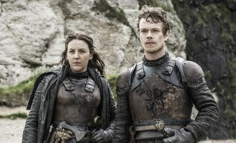 Yara and Theon - Game of Thrones Season 6 Episode 5