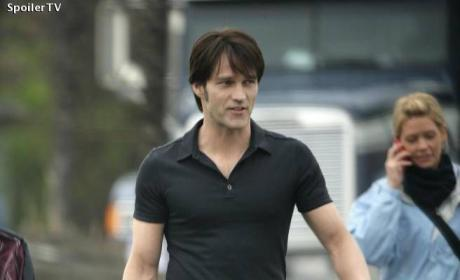 Stephen Moyer Strutting
