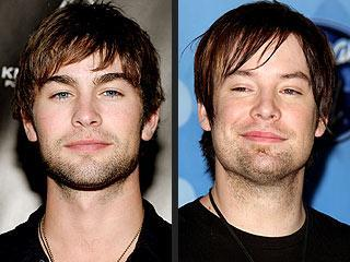 Chace Crawford and David Cook
