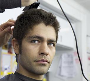 Short hair Vince