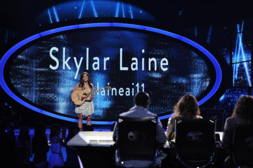 Skylar Laine on Stage