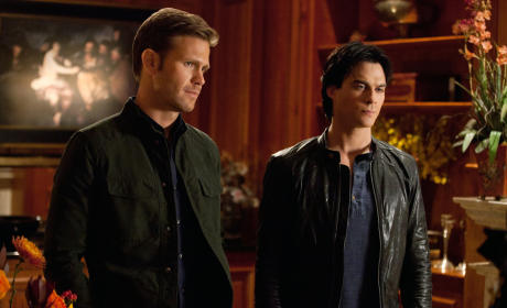 The Vampire Diaries to Spin Off Damon and Alaric