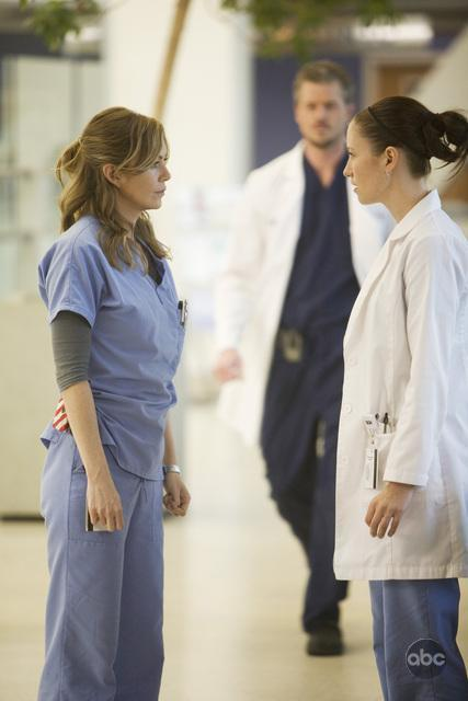 Mer and Cristina Chat