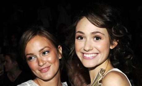 Leighton Meester Pals Around