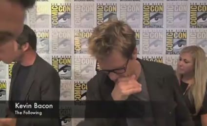 Comic-Con Exclusive: The Following Cast Scares Up Scoop