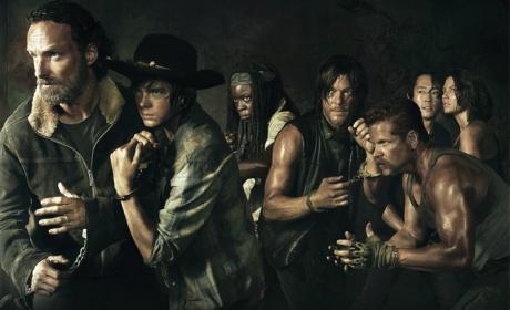 Walking Dead Cast Photo - The Walking Dead