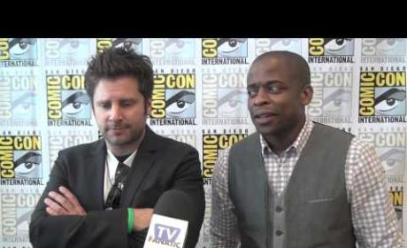 Dule Hill and James Roday Talk Directing, Bromancing and Newsroom Guest-Starring
