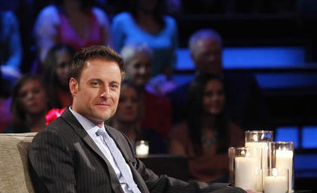 Chris Harrison at the Men Tell All