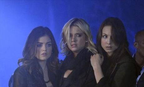 Aria, Spencer, Hanna