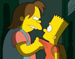 Nelson Threatens Bart