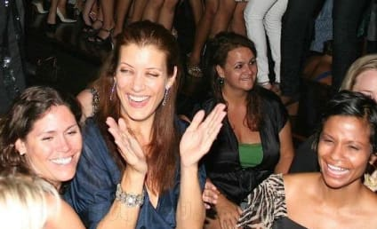 Kate Walsh, Friends at Bachelorette Bash