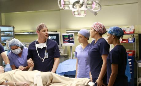 Not the Best Way - Grey's Anatomy Season 12 Episode 10