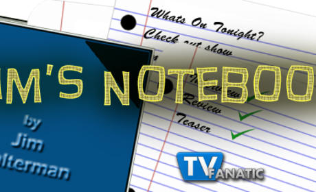 Jim's Notebook: Open to Gossip Girl, The Walking Dead and More!