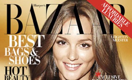 Leighton Meester in Harper's Bazaar