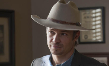 Raylan Givens Listens In