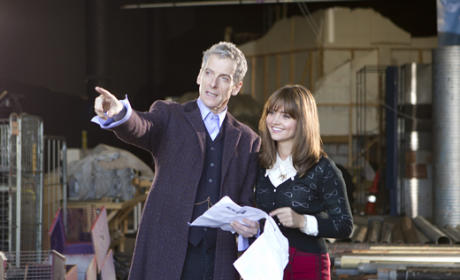 Peter Capaldi and Jenna Coleman