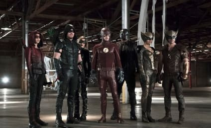 Arrow-Flash Crossover: First Look Photo!