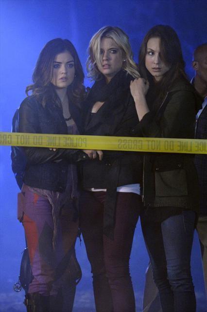 Aria, Spencer, Hanna