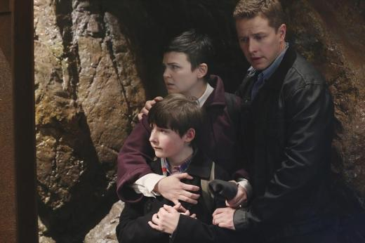 Mary Margaret, David and Henry