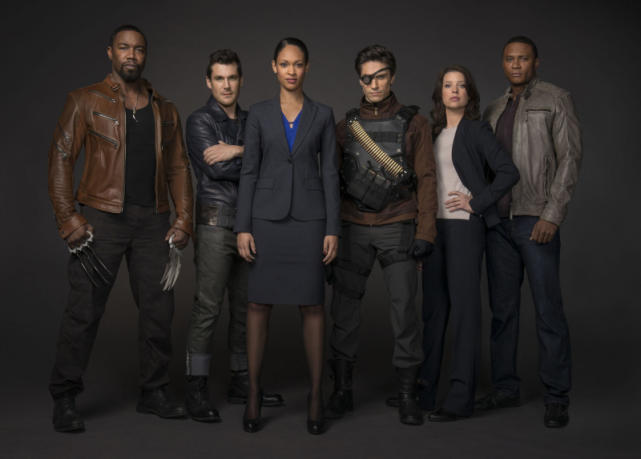 The Suicide Squad with Diggle and Lyla