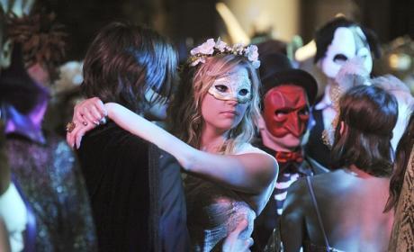 A Masked Slow Dance