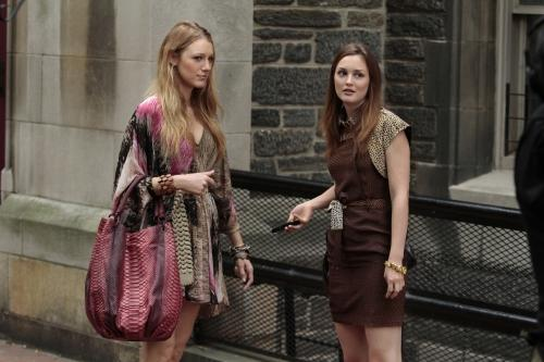 Serena and Blair in NYC