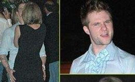Blake Lewis Caught Making Out with Mystery Woman