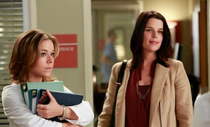 Neve Campbell on Grey's Anatomy: First Look!