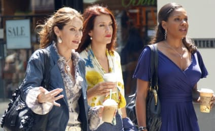 Private Practice Ladies on the Set