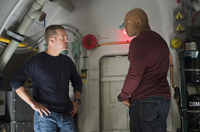 Sam and Callen Discuss Their Predicament