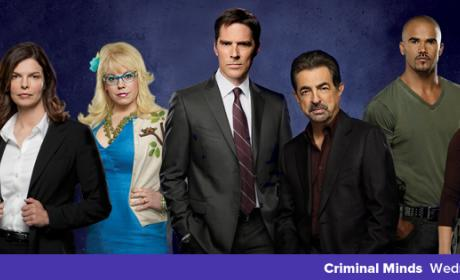 Criminal Minds Cast with Jeanne Tripplehorn