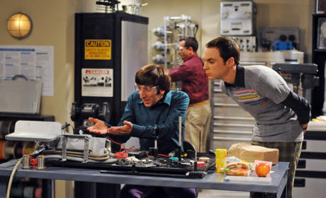 Sheldon and Wolowitz