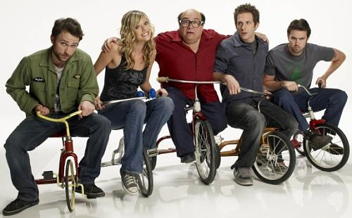 It's Always Sunny Cast on Tricycles