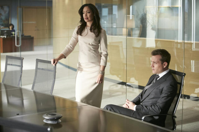 Harvey and Jessica are All Business