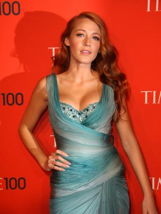 Blake Lively With Red Hair!