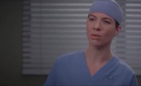 Grey's Anatomy 'Bad Blood' Clip - Callie and Interns