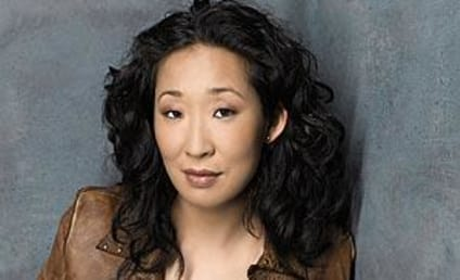 Sandra Oh Stands Behind Striking Writers