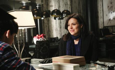 Once Upon a Time Exclusive: Lana Parrilla Delves Into the Author, The Darkness