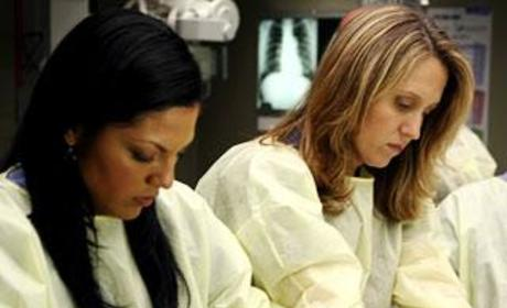 Shonda Rhimes Discusses Erica and Callie