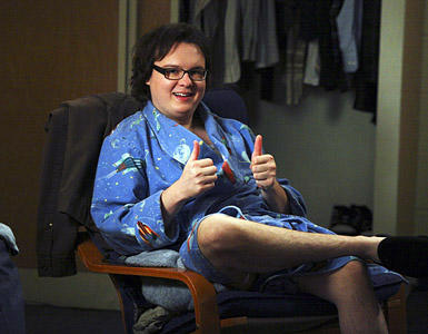 Clark Duke on Greek
