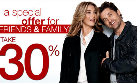 Share the Love, Save Some Money With Ellen Pompeo and Patrick Dempsey