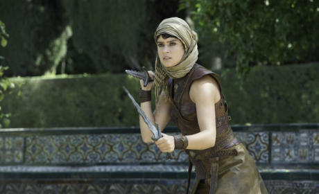 Tyene Sand Attacks - Game of Thrones Season 5 Episode 6